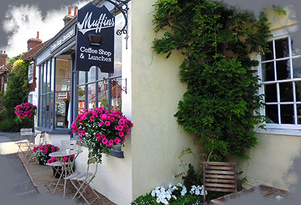 Muffins Cafe - Coffee Shop and Boutique based in East Hoathly, East Sussex.